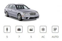 National Car Rental Car Group Estate Premium Mercedes E-Class Estate or similar