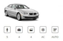 Europecar Car Group Luxury Premium BMW 5 Series or similar