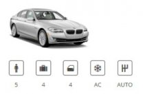 Günstige Mietwagen Car Group Luxury Premium BMW 5 Series or similar