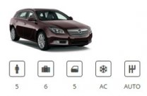 Car Group Standard Estate Opel Insignia Estate or similar Europ Car