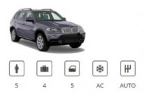 Europecar Car Group SUV Premium BMW X5 or similar