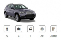 Billigermietwagen Car Group SUV Premium BMW X5 or similar